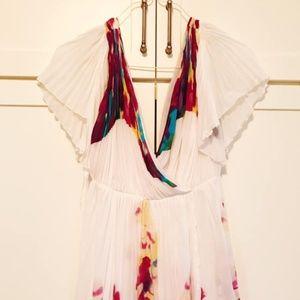 Silk floral Diane von Furstenberg dress